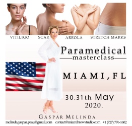 Melinda Gapar paramedical micropigmentation training