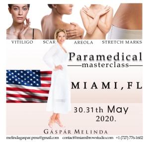 Melinda Gapar paramedical micropigmentation training